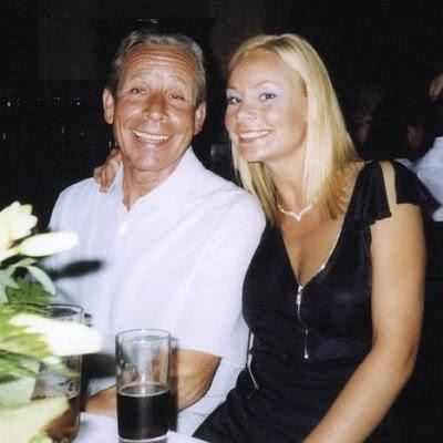 John Huff med datteren Dianne Huff