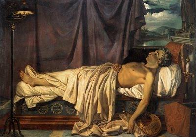 Lord Byron på dødslejet