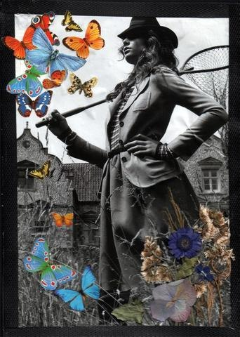 Butterfly Catcher by Ann M. Gorman