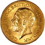 George V gold sovereign