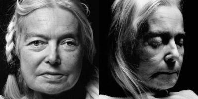 Edelgard Clavey før og efter døden