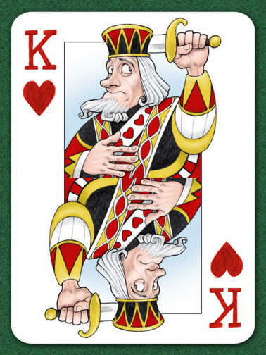 Suicide King of Hearts