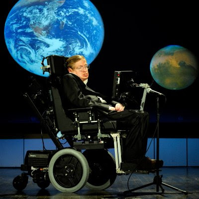 Stephen Hawking ved TV show