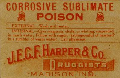Corrosive Sublimate - POISON