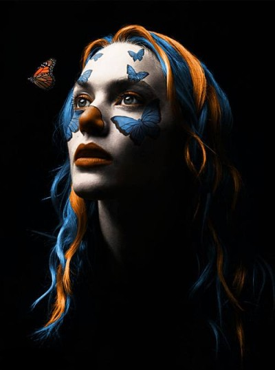 Monarch Clownerfly Winslet By MasterGnu