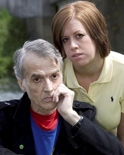 David Woods, med datteren Nadine