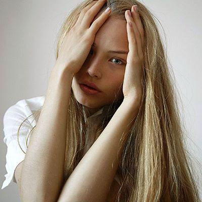 Ruslana Korshunova portræt
