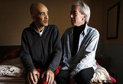 Raymond Cutkelvin og Alan Rees kort før den sidste rejse