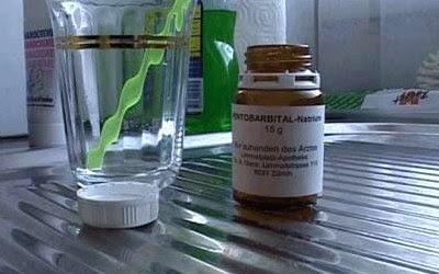 Pentobarbital Natrium, 15g, hos Dignitas