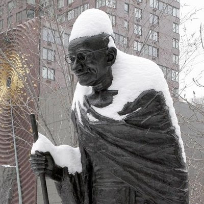 Mahatma Gandhi vandt gennem civil ulydighed