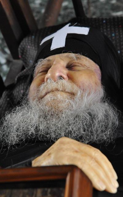 Joseph of Vatopedi, en død munks smil