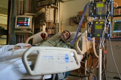 Kaos før døden på hospital