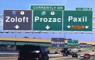 Zoloft - Prozac - Paxil