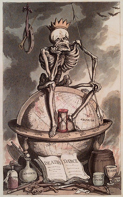 From Thomas Rowlandson - The English Dance of Death - 1815