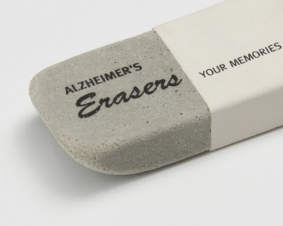 Alzheimer's Erasers - Your memories
