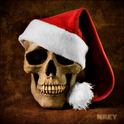 Jule-kranium ønsker glædelig jul