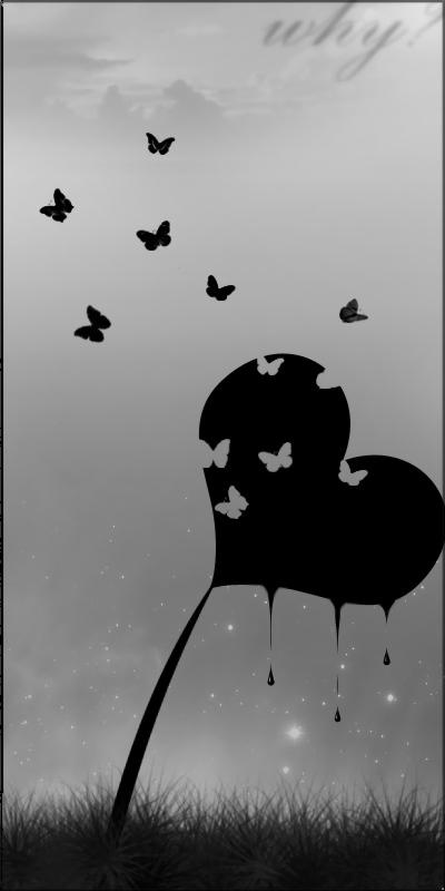 Knust og blødende hjerte
