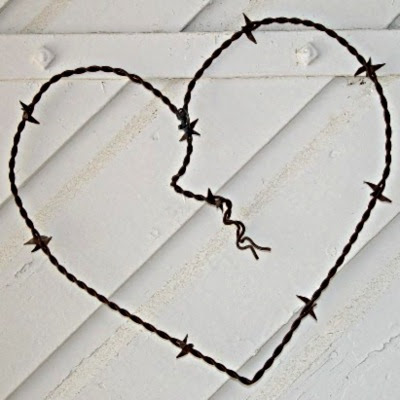 Hjerte af pigtråd