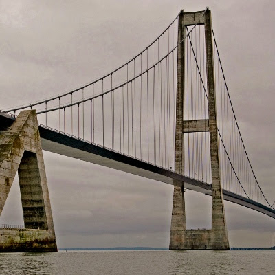 Storebæltsbroen, et stykke af Østbroen