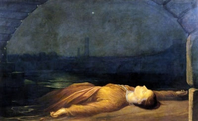 Found Drowned by George Frederick Watts RA, 1867