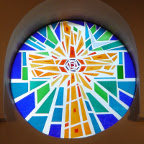 Mosaikrude i Hjørring Baptistkirke