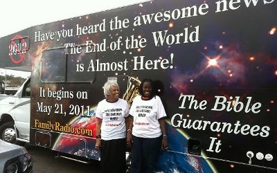 Have you heard the awesome news? - The End of the World is Almost Here! - It begins on May 21, 2011 - The Bible Guarantees It - FamilyRadio.com