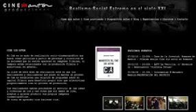 Web de Cine sin autor