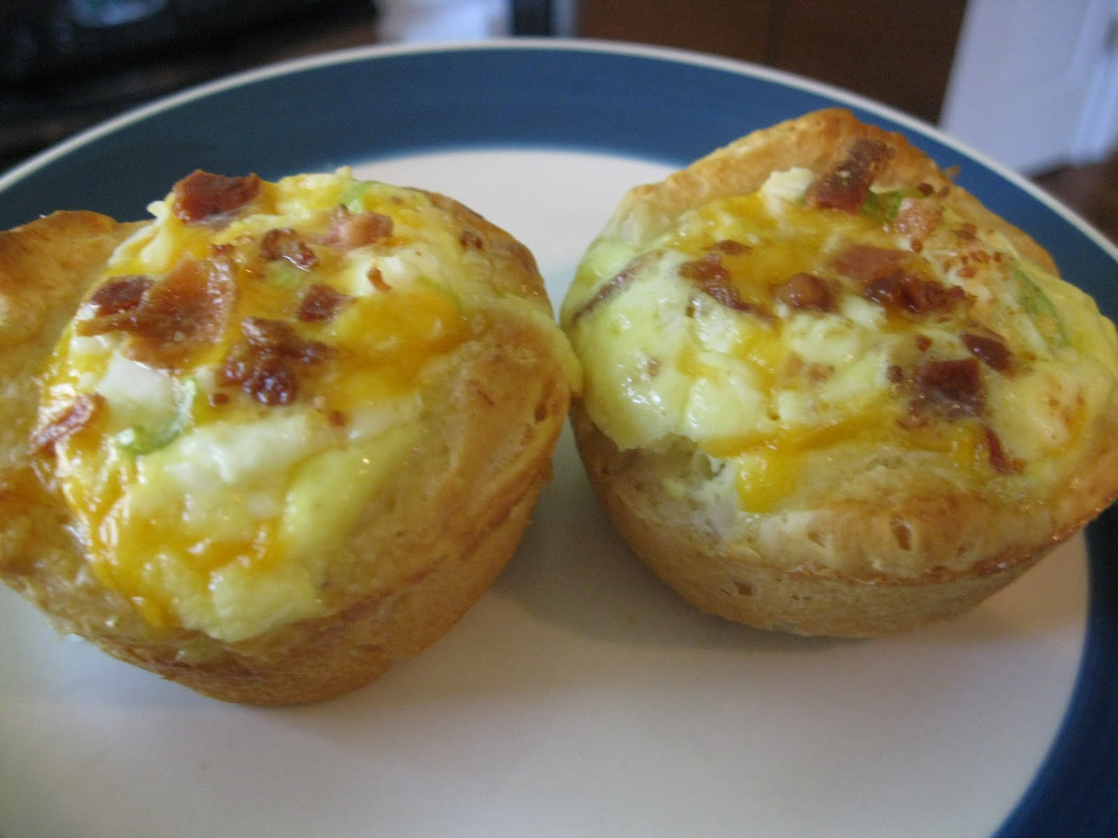 Hope You're Hungry: Bacon Quiche Tarts