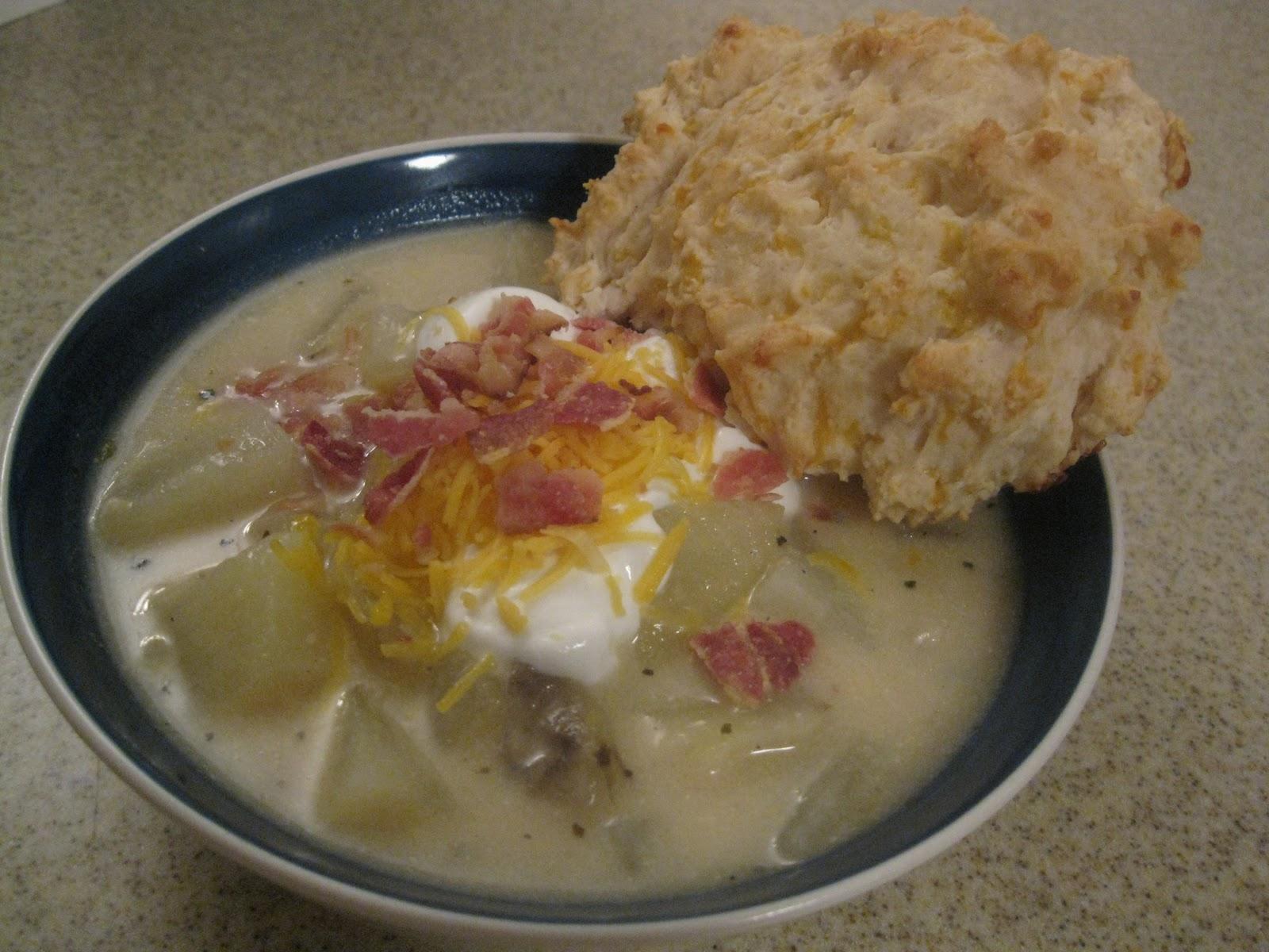 I Hope You're Hungry: Baked Potato Soup