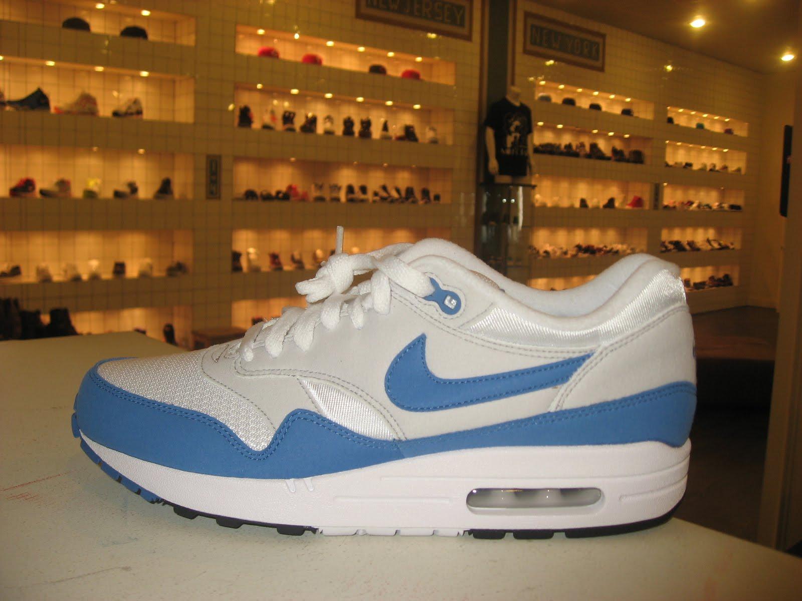 f0726241c2 Nike Air Max 1 QS in White/Varsity Royal-Neutral Grey | The Sixth Boro