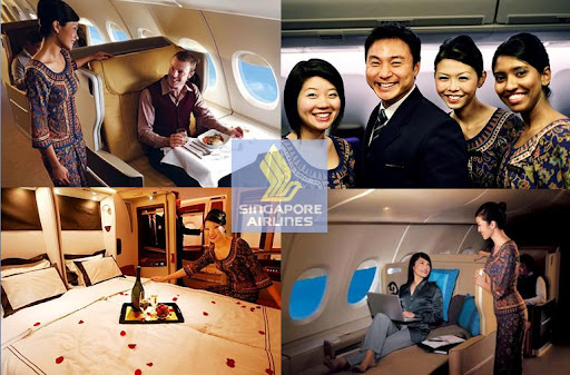 Singapore Airlines. Where travelling is taken to a whole new level: Step . (siaaa)