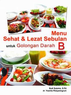 Diet Menu: Menu Diet Darah B