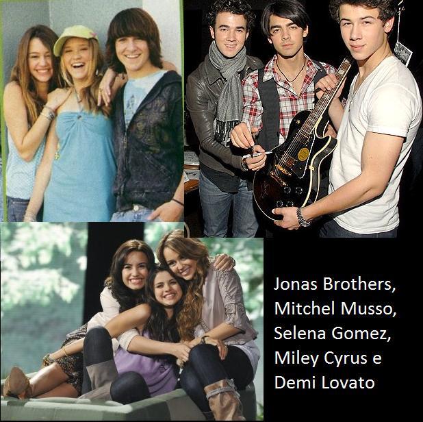 Jonas Brothers, Mitchel Musso e mais artistas