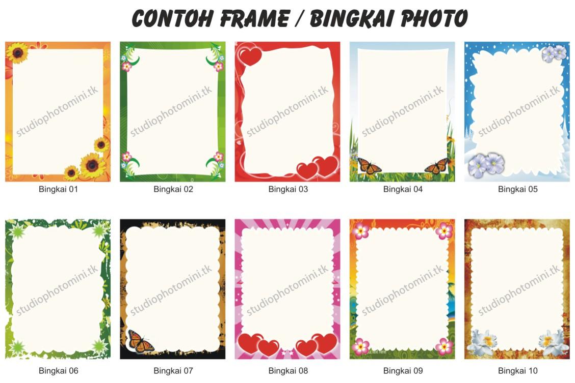 Contoh Frame Gambar