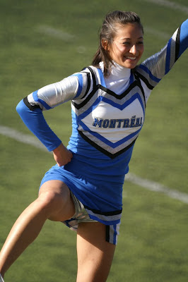 College Cheerleader Heaven: University of Montreal Cheerleaders