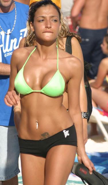 Auch eine bikini babe heaven wife used