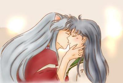 Animes Besandose Enamorados