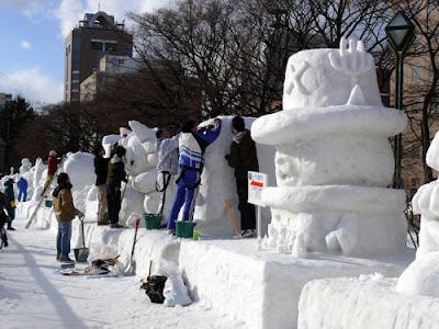 Sapporo Snow Festival 2011 Citizen
