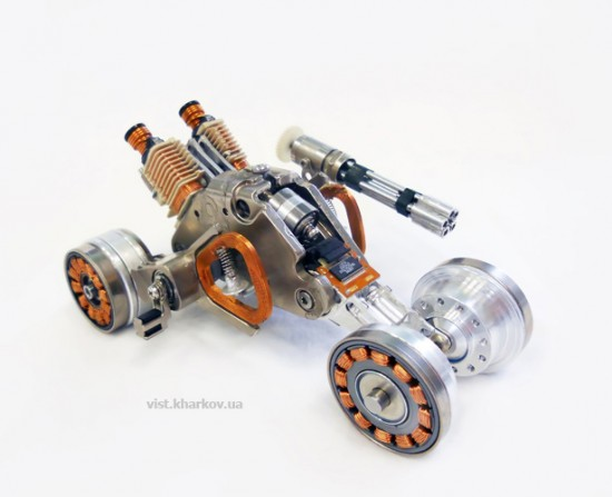 toys made with hard disk parts.