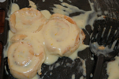 Yum! Orange-glazed cinnamon rolls from scratch. YOU CAN DO IT!