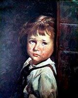 Cuadros de los Niños llorones Doorboy