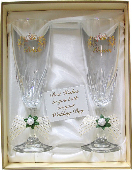 GLASS SET ALSO IN SILVER PERSONLISED EXTRA CHARGE