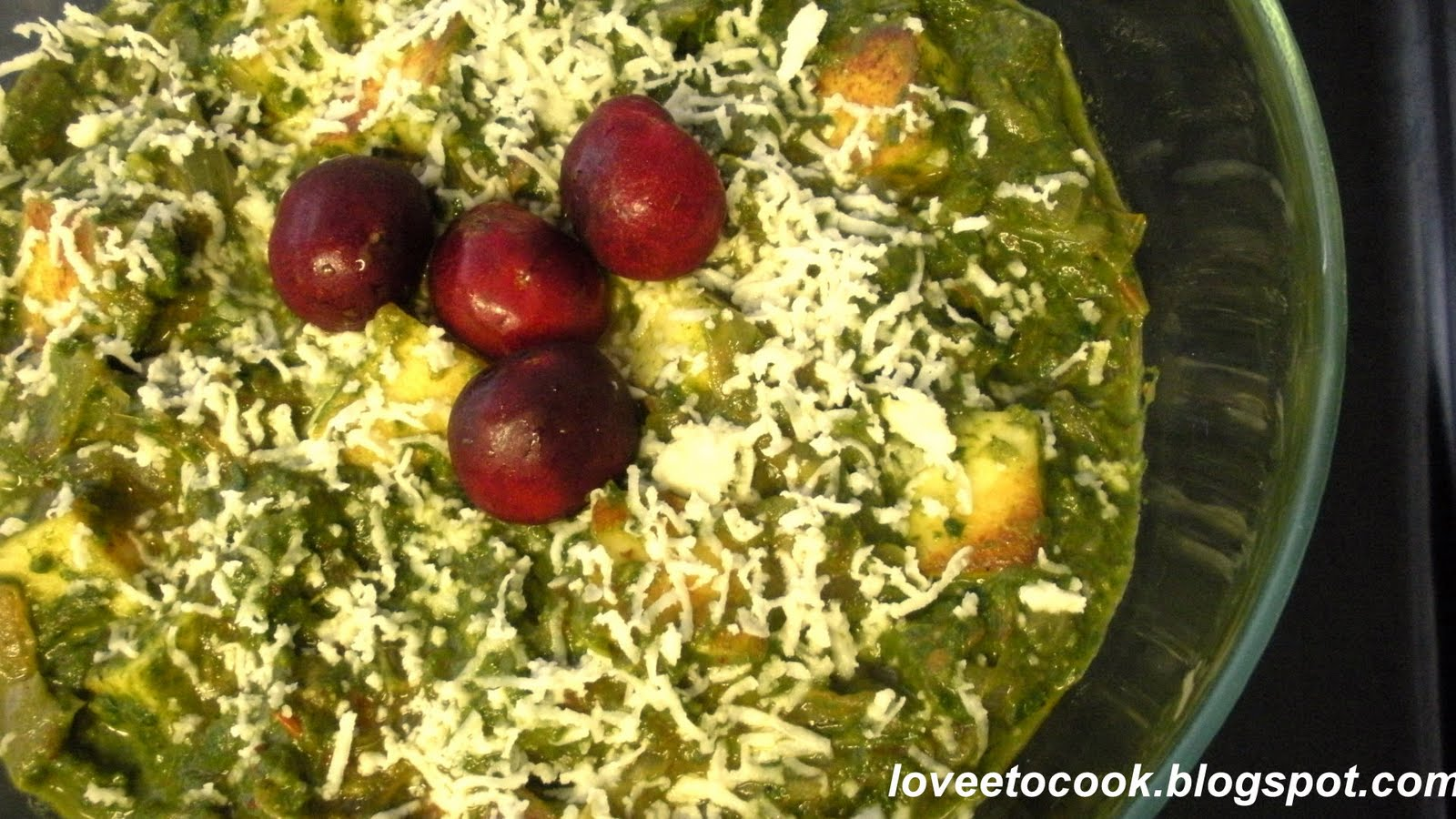how to cook paneer cheese with spinach