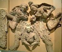 Buddha atr in central asia