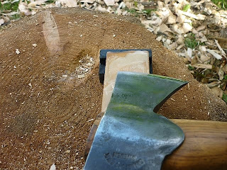 axe carving