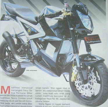 New Radical Modifikasi Fighter Motor