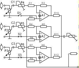 Rangkaian OpAmp Operasional Amplifier