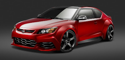 Trend 2011 Five Axis Scion tC Show Car Specification in China