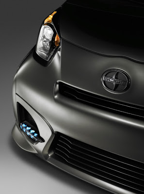 The All-New 2011 Five Axis Scion iQ Show Car Specification