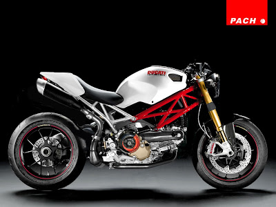 Ducati Monster White Bodykit Modification
